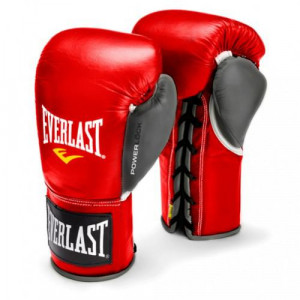 Перчатки боевые Everlast Powerlock, 10oz Everlast