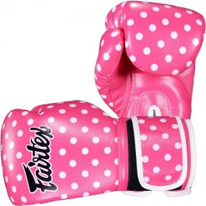 Боксерские перчатки Fairtex POLKA, 12 OZ Fairtex