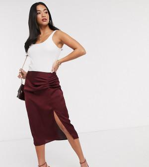 Плиссированная юбка Vero Moda Petite-Красный