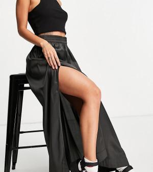 Черная юбка миди от комплекта Reclaimed Vintage Inspired-Черный цвет