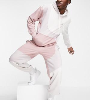 Розовые джоггеры в стиле колор-блок PUMA Convey – эксклюзивно для ASOS-Розовый цвет