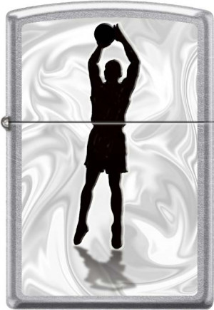 Зажигалки Zippo Z_207-Basketball