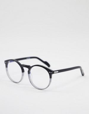 Очки унисекс с защитой от синего излучения в черной оправе Spitfire Cut Eighteen-Черный цвет