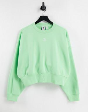 Свитшот мятного цвета adidasdas Originals Essentials-Зеленый цвет adidas Originals