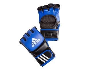 Перчатки для смешанных единоборств Ultimate Fight сине-черные, сине-черные Adidas