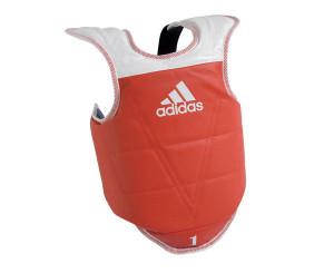 Детская защита корпуса двухсторонняя Kids Body Protector Reversible WTF, сине-красная Adidas