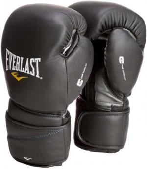Перчатки боксерские Everlast Protex2 Leather, 10 oz Everlast