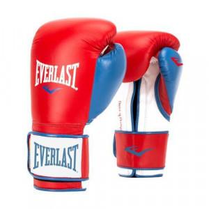 Перчатки тренировочные Everlast Powerlock, синтетическая кожа, 16 OZ Everlast